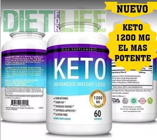 Keto Advanced W. Loss 1200 Mg U. S. A Orig. X 2 + Dieta Keto