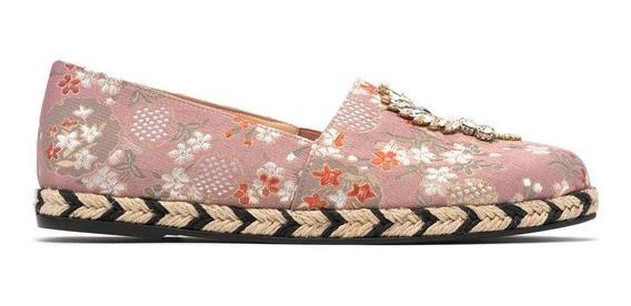 Zapato Casual Mujer Piel Textil Flat Alpargata Prada Mx