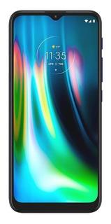 Celular Liberado Moto G9 Play 64 Gb Azul Eléctrico 2675