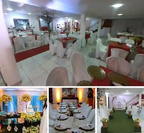 Imagem 1 de 3 de Salão De Festa Decoração E Buffet Completo