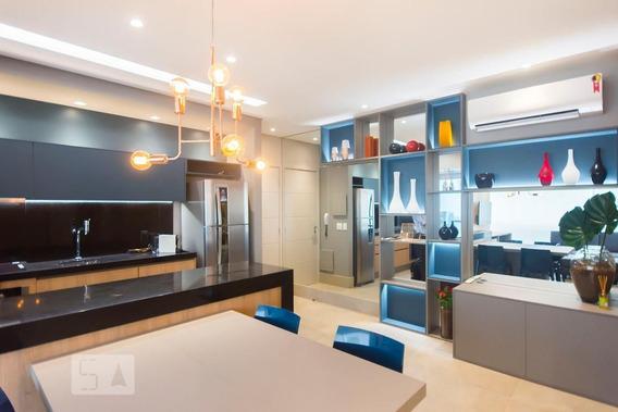 Apartamento No 14º Andar Mobiliado Com 1 Dormitório E 1 Garagem - Id: 892956892 - 256892
