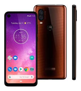 Smartphone Motorola One Vision Xt1970/b Bronze 128gb