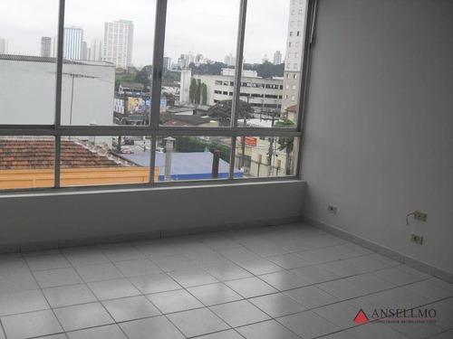 Imagem 1 de 5 de Sala Para Alugar, 28 M² Por R$ 780,00/mês - Centro - São Bernardo Do Campo/sp - Sa0165