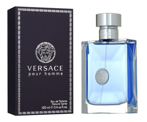 Perfume Versace Pour Homme Para Caballero 100 Ml