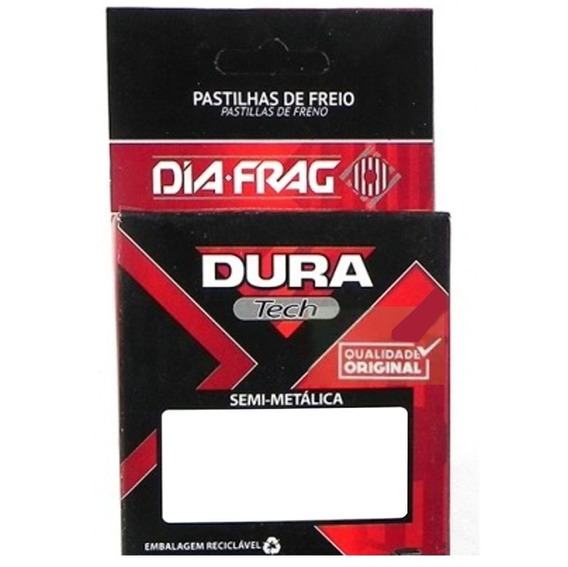 Pastilha De Freio Er-5 Zr-7 Gsf Bandit Dura Tech Dfp-40829
