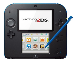 Nintendo 2DS Mario Kart 7 Bundle azul y negro