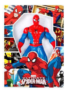 Spiderman Gigante 50 Cm Articulado Origi Colores En Fuga Kid
