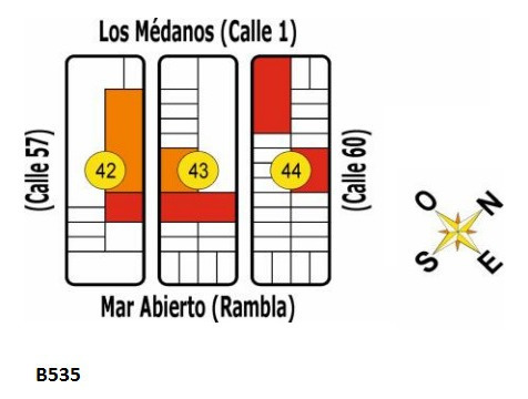 B535 Solares En Uruguay - La Esmeralda - Dpto De Rocha