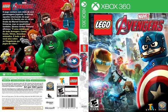 Lego Marvel Vingadores - Xbox 360 Destravado Lt 3.0