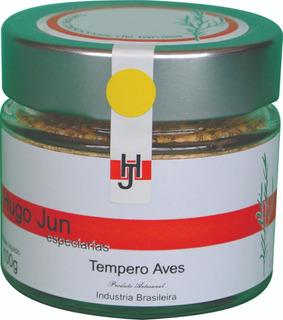 Tempero Aves 100g Hugo Jun Especiarias