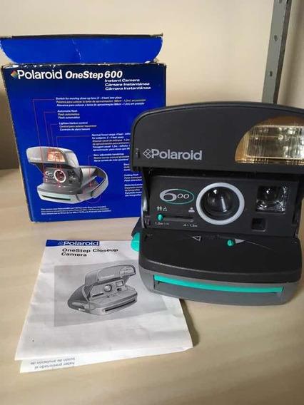 Câmera Polaroid Onestep 600 Na Caixa C/ Manual