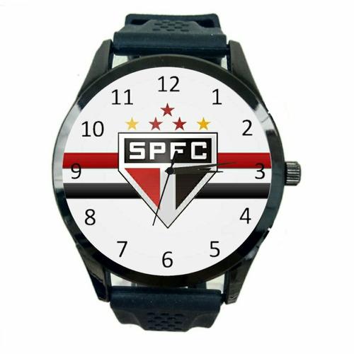 Relógio São Paulo Feminino Time Futebol Esporte Jogo Fc T866