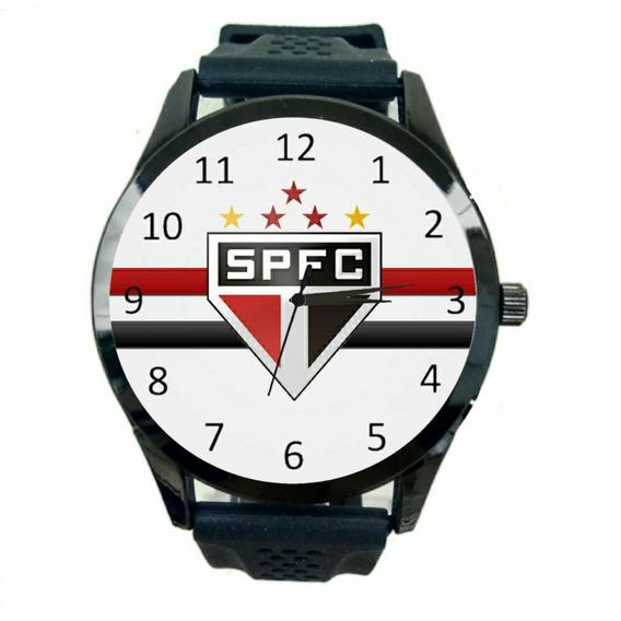 Relógio São Paulo Feminino Time Futebol Esporte Jogo Fc T1083