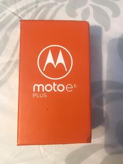 Motorola E6 Plus 64gb Y 4ram Nuevo