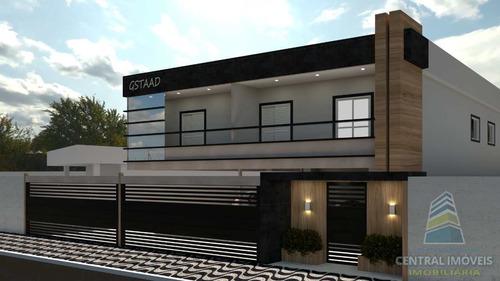 Sobrado De Condomínio Com 2 Dorms, Ocian, Praia Grande - R$ 230 Mil, Cod: 9285 - V9285