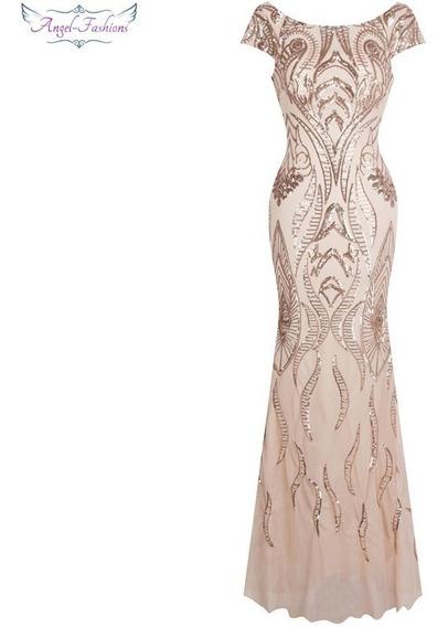 Vestido Sereia Vintage Coral Importado Pronta Entrega