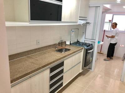 Apartamento Em Condomínio Padrão Para Locação No Tatuapé, 03 Dorm, 01 Suíte, 02 Vagas, 80,00 M², Semi Mobiliado, Primeira Locação - 1575