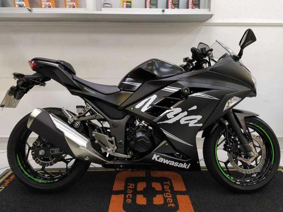 Kawasaki Ninja 300 Abs Preto 2018 - Target Race