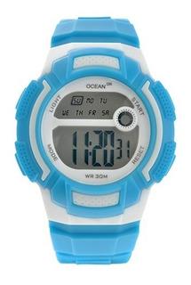 Reloj Deportivo Hombre Y Mujer Alarma Sumergible Od01-002