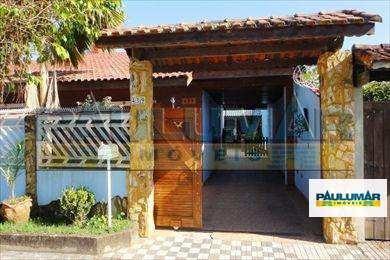Casa Com 2 Dorms, Jardim Praia Grande, Mongaguá - R$ 450.000,00, 120m² - Codigo: 485100 - V485100