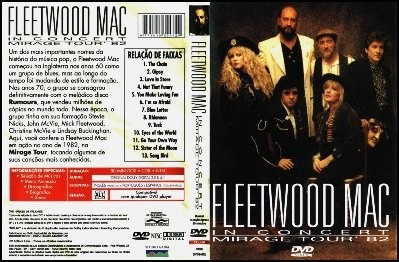 Fleetwood Mac - Live In Concert - Mirage Tour 1982 Dvd - O