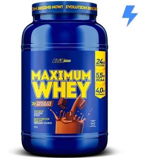 Whey Protein Maximum 907g - Blue Series