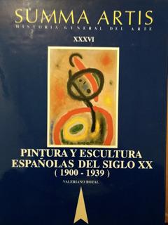 Summa Artis- Pintura/escultura Española Del Siglo Xx- Nuevo