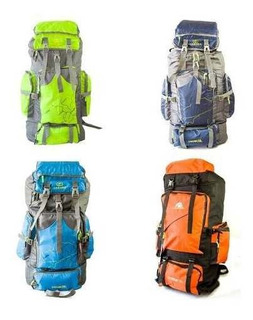 Mochila Camping Montaña Trekking 70 Lt Impermeable/forcecl