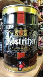 Barril Kostritzer 5 Litros Cerveza Alemana Negra