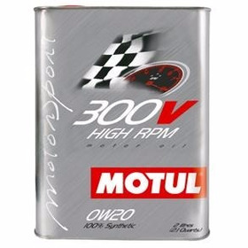 Kit C/3 Óleo Motor Motul 300v High Rpm 0w20 2lt