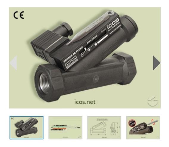 Sensor Fluxo Eicos Fh12b02