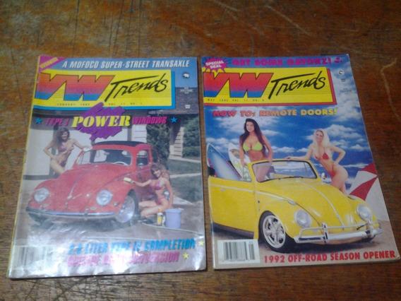 2 Antigas E Raras Revistas Vw Trends Edição Em Inglês