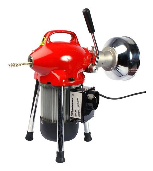 Destapador Cañe. Motor 1/3hp 20mts