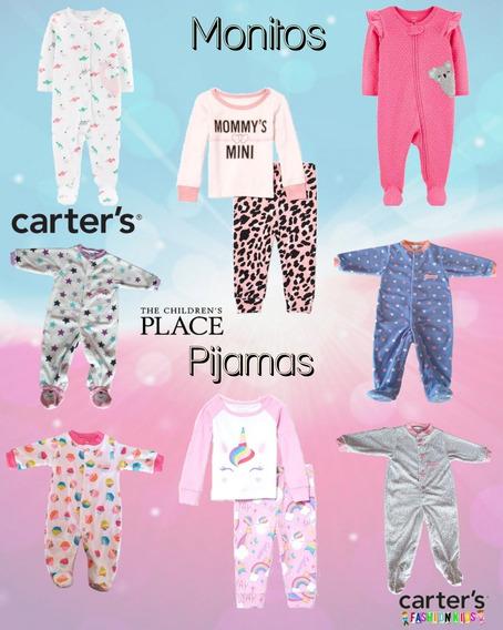 Enterizo Monito Pijama Marca Carters Bebé Niña 100% Original