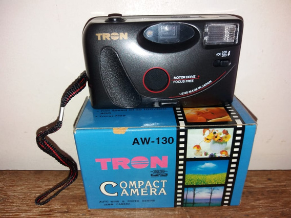 Máquina Fotográfica Tron Aw130 Na Caixa Com Manual Nova