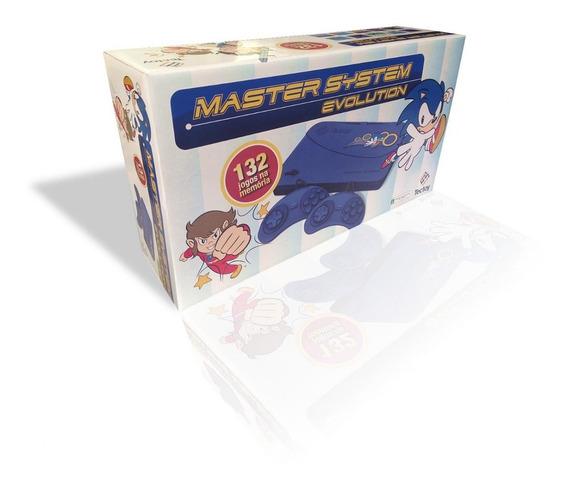 Master System Evolution Com 132 Jogos Na Memória