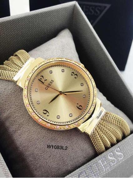 Relógio Guess Rel W1083l2 Chiffon