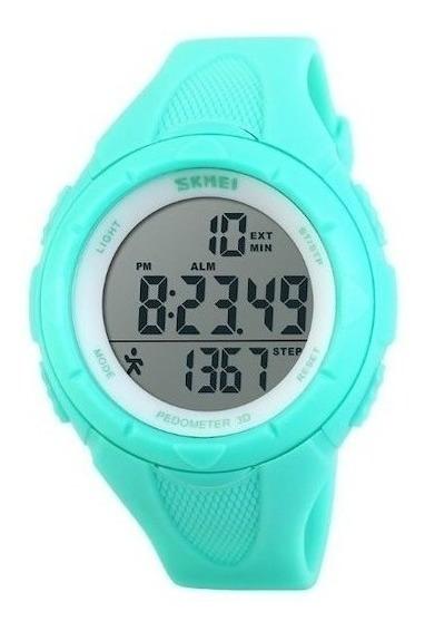 Relógio Feminino Skmei Pedômetro Digital 1108 Vd