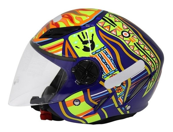 Capacete Agv Blade Five Continents Azul Rs1