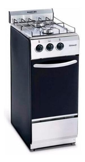 Cocina Martiri Kitchenette 2 Hornallas 35 Cm Multigas Inox
