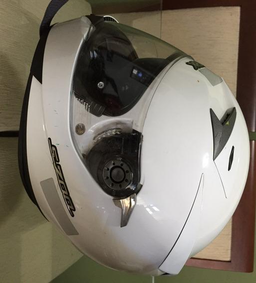 Capacete Shark S700 - Branco Importado