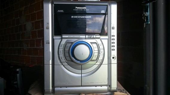 Micro System Panasonic Sa-ak230 (com Defeito Tirar Peças)