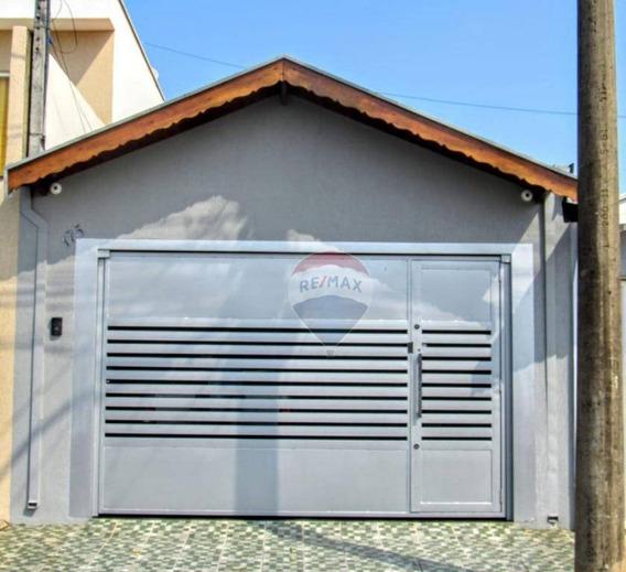Casa Com 02 Dormitórios Á Venda - Saltinho Sp - Ca0461