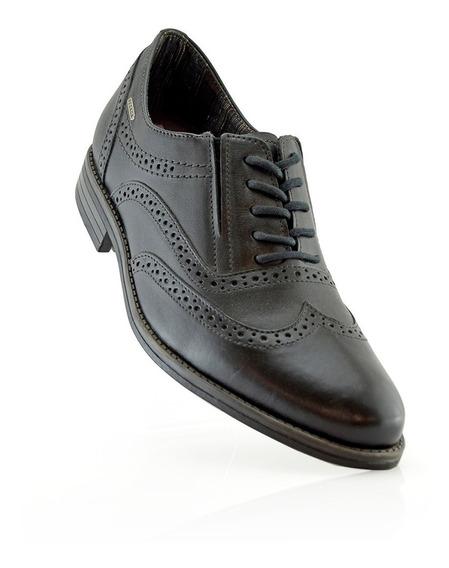 Zapato Oxford Cuero Pegada 124506-01 Elis Calzados