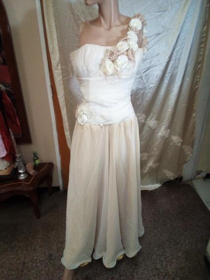 Vestido De Dama O Novia Talla 6