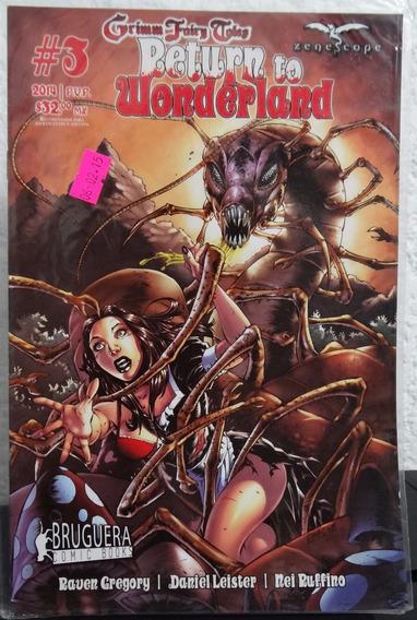 Return To Wonderland # 3 - Bruguera