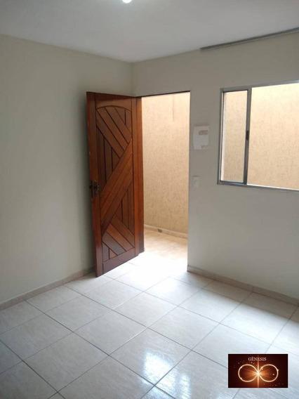 Casa Com 1 Dormitório Para Alugar, 35 M² Por R$ 800/mês - Capão Redondo - São Paulo/sp - Ca0044