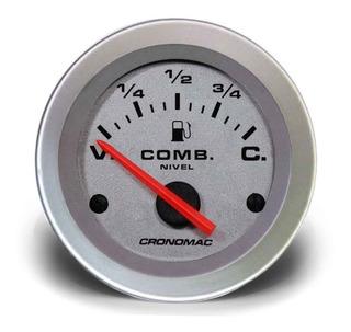 Manômetro Nível De Combustível 52mm Elétrico Racing