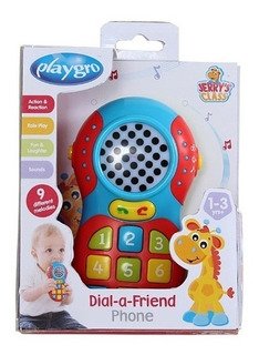 Juguete De Bebe Telefono Para Marcar A Un Amigo Playgro