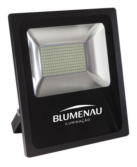 Kit 2 Refletores Led 50w Slim Blumenau 6000k Bivolt Ip65